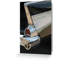 Tailed Bel Air Greeting Card