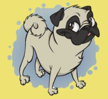 Gustav the Pug by SpankTB
