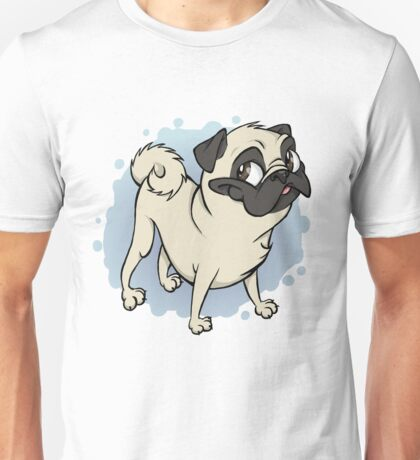 Gustav the Pug Unisex T-Shirt