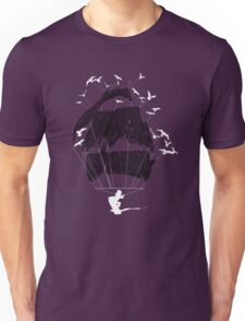 Tethered - wakeboarding pirate Unisex T-Shirt