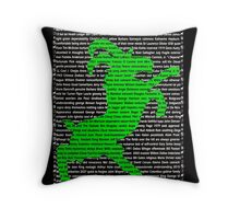 """""""The Year Of The Sheep / Goat / Ram"""" Cards Throw Pillow"""