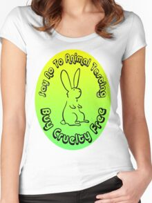 Buy Cruelty Free Women's Fitted Scoop T-Shirt