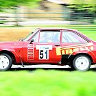 Gwyndaf Evans Escort RS1800 by Willie Jackson