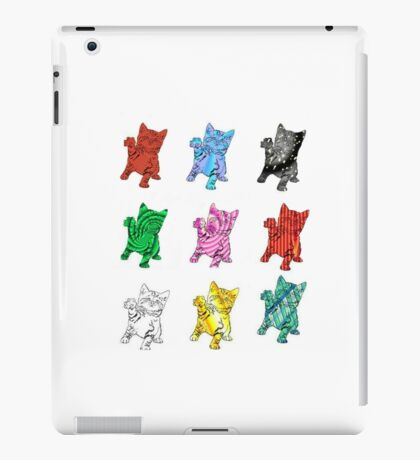 Nine Funky Kittens iPad Case/Skin