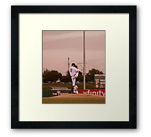 Giants Pitcher Barry Zito - Triple A Rehab Framed Print