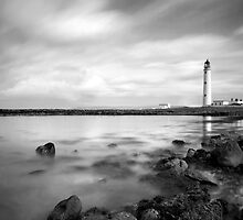 Moody Barns Ness Lighthouse by Claire Tennant