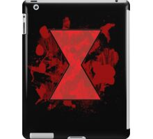 Black Widow Blood Spatter iPad Case/Skin