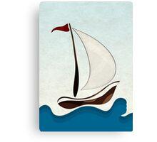 Sail Sunday Canvas Print