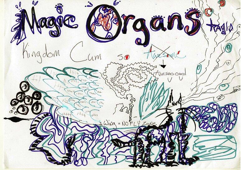 Magic Organs 1 by Darrell Kinsel