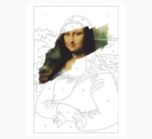 Mona Lisa by Numbers by printmeister