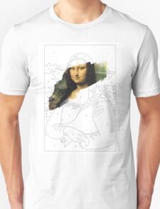 Mona Lisa by Numbers T-Shirt