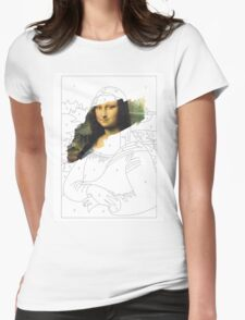 Mona Lisa by Numbers Womens Fitted T-Shirt