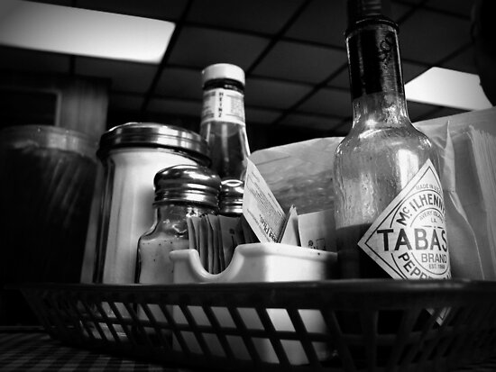 At the Diner by DionNelson
