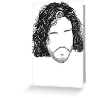 game of thrones - no text Greeting Card