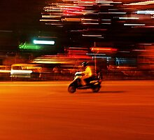 Faster than the speed of night III by heinrich
