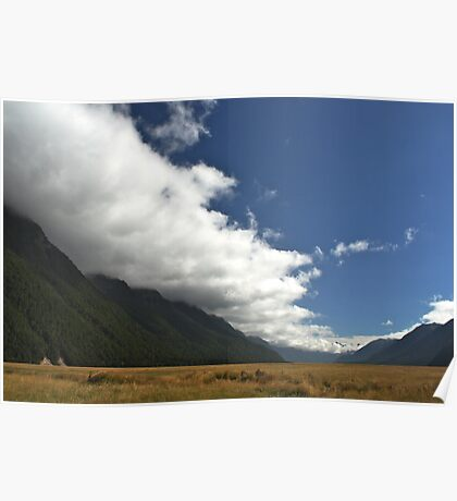 Inversion Layer in New Zealand Poster