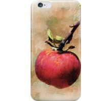 One Red Apple iPhone Case/Skin