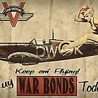 Vintage / Retro Pin Up Propaganda by cinemaphoto