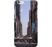 NYC 7th Avenue. iPhone Case/Skin