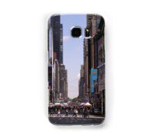 NYC 7th Avenue. Samsung Galaxy Case/Skin