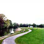 River Aire & Salts park by Jason Feather