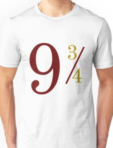 Nine and Three Quarters Unisex T-Shirt