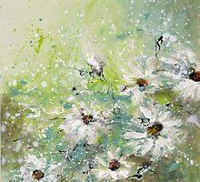 Spring daisies by JessAbbot