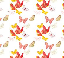 Nature insect pattern butterflies by Katharina13