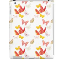 Nature insect pattern butterflies iPad Case/Skin