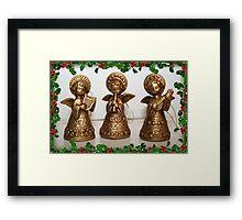 Christmas Angels Framed Print