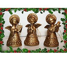 Christmas Angels Photographic Print