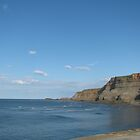 Whitby cliffs by eastermoon