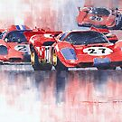Ferrari 512 S 1970 24 Hours of Daytona by Yuriy Shevchuk