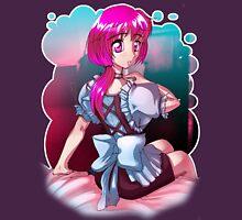 Anime Manga Maid Womens Fitted T-Shirt