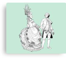 Duke and Dutchess Canvas Print