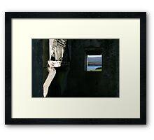 Derelict view Framed Print