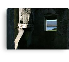 Derelict view Canvas Print