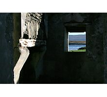 Derelict view Photographic Print
