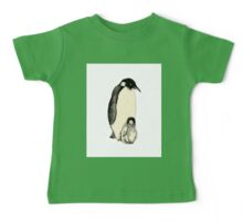 Penguin and a little Baby Tee