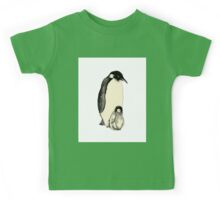 Penguin and a little Kids Tee