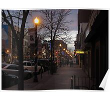 """""""Downtown Colorado Springs During the Holidays"""" Poster"""