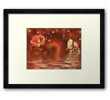 The Guest Framed Print