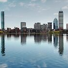 Boston Skyline by Michelle Callahan