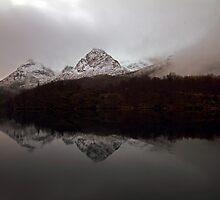 Autumn Lake-V by Frank Olsen