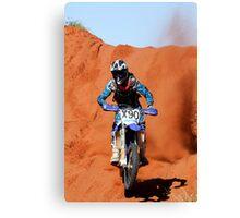 Bike X90 - Finke 2011 Day2 Canvas Print
