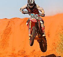 Bike 552 - Finke 2011 Day 2 by Centralian Images