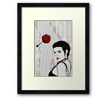 Blood Apple Framed Print