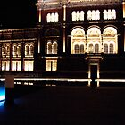 Reflecting Pool at V&A at night by PhotosbyDrJ