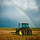 Country Rainbow - Sedgwick County, CO by Zeibyasis