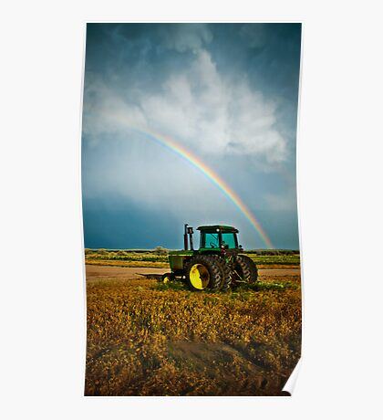 Country Rainbow - Sedgwick County, CO Poster